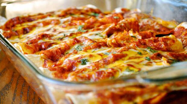 Вкусный ленивый рецепт лазаньи на скорую руку