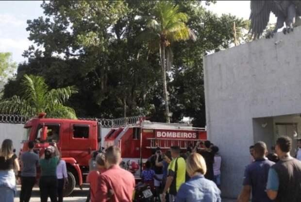 При пожаре на футбольной базе в Бразилии погибли 10 человек
