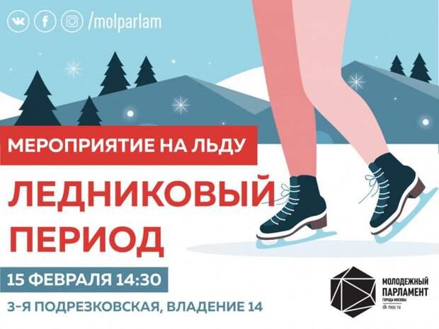 Для москвичей проведут мероприятие на льду