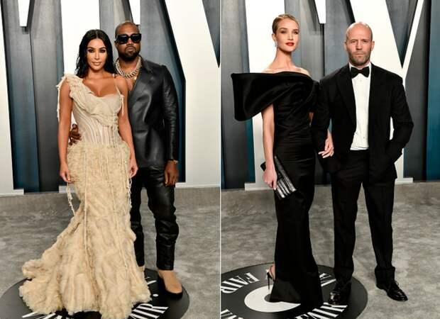 Самые красивые пары на вечеринке Vanity Fair после Оскара 2020