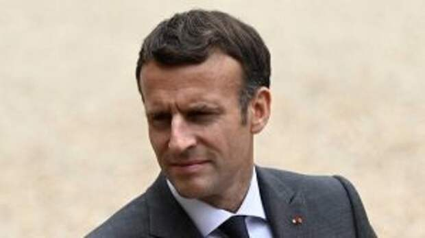 Французы назвали позором и унижением страны пощечину Макрону