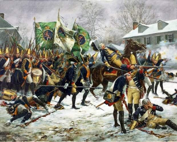 Рождественский рейд Вашингтона: разгром гессенских наемников в Трентоне