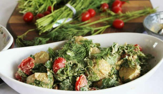 12 вкуснейших салатов длялета