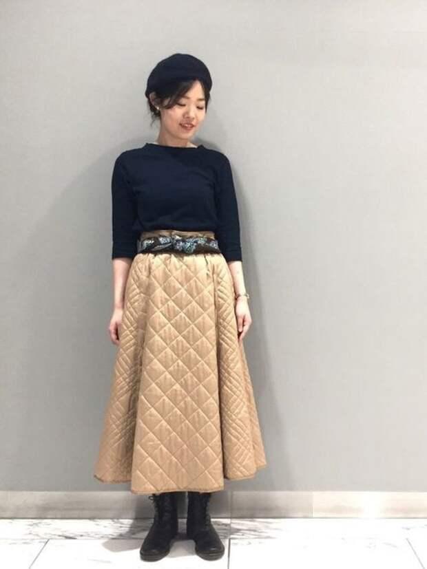 Теплые осенние юбки (подборка)