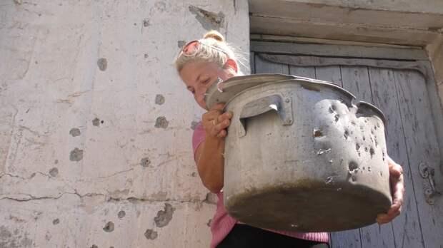 """Вот так Украина нас """"любит"""": жители Донбасса предоставили доказательства нового обстрела ВСУ"""