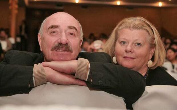 Актриса и ее муж, Леонид Эйдлин | Фото: lady.tut.by