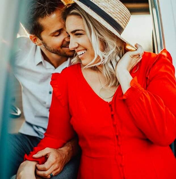 Девушка ответила завистникам, которые твердили, что она недостаточно стройная для своего мужа