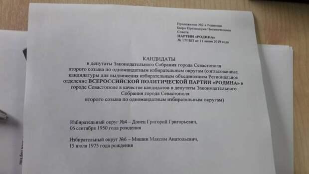 Сторонники Чалого рассчитались на «Единую Россию» и «Родину»