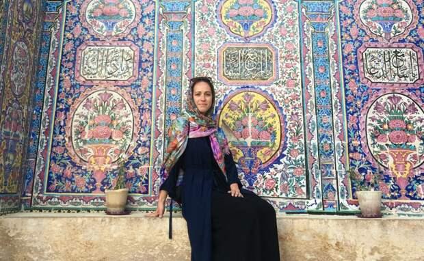 Девушка приехала в Иран весной / Фото из личного архива