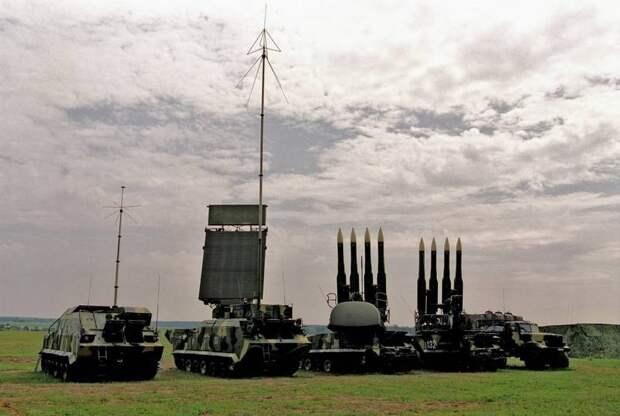 Системы противовоздушной обороны в России. ЗРК «Бук»
