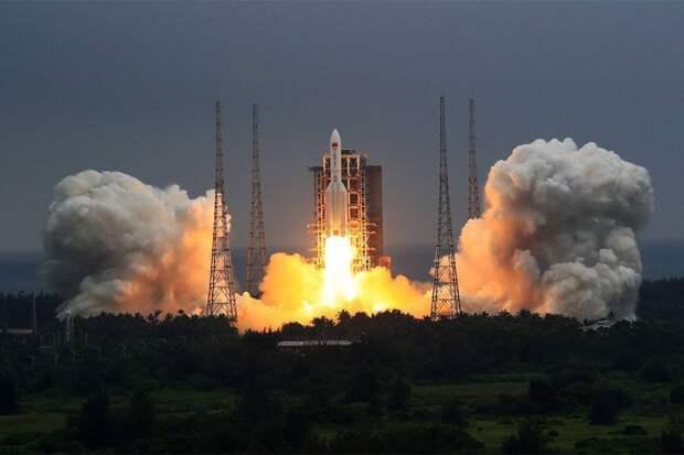 КНР: обломки ракеты «Чанчжэн-5Б» сгорят в атмосфере