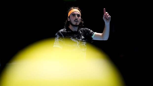 Циципас завершил выступление на турнире в Париже, проиграв во 2-м круге Умберу