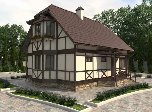 Дома в немецком стиле: современные решения (56 фото)