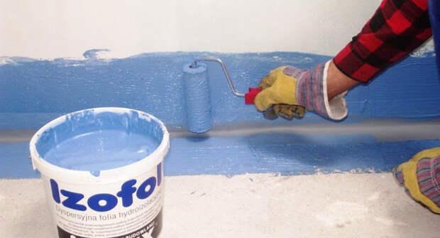 Гидроизоляция ванной комнаты под плитку