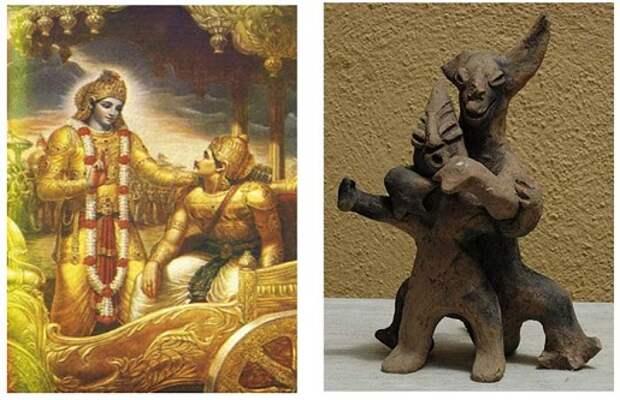 Век ящеров — Брахманы и Боги