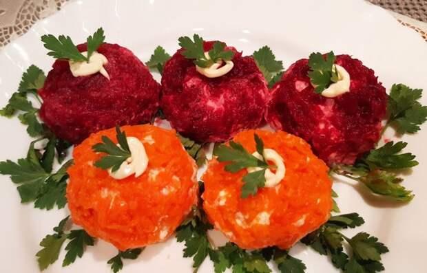 «Сырные ежики» — интересный овощной салат в оригинальном исполнении