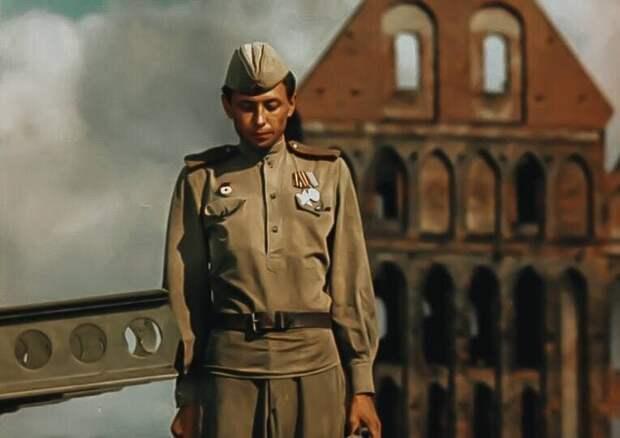 Кадр из фильма «Женя, Женечка и «Катюша»», 1967