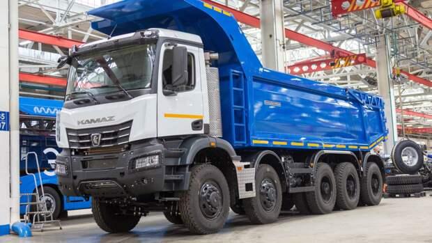 Благодаря новой технологии грузовики КамАЗа будут меньше ржаветь