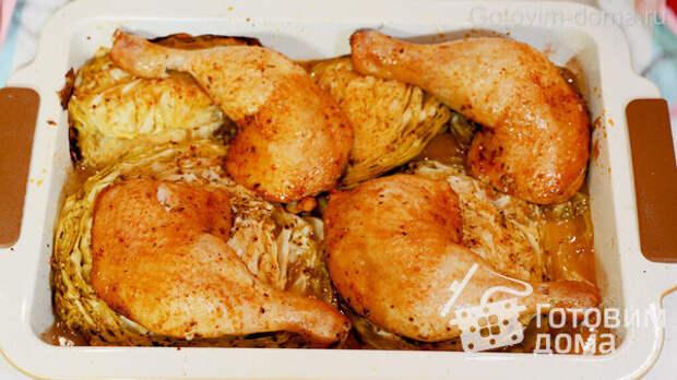 ШАЙБЫ из Капусты с Курицей в Духовке фото к рецепту 6