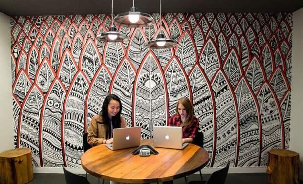 Офисный декор стен