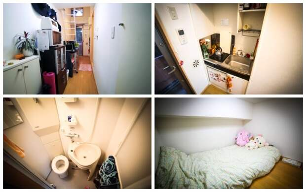 Девушка умудрилась обустроить 8 кв. метров съемного жилья: поместилось почти все