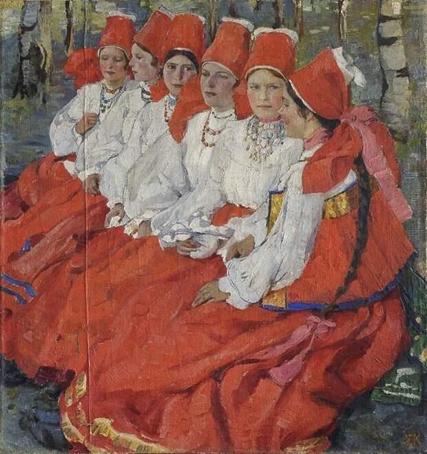Как наводили красоту крестьянки на Руси девушки, история, красота.