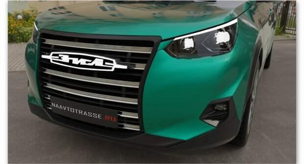 Представлен новый кросс-купе ЗИЛ-130 2021 года