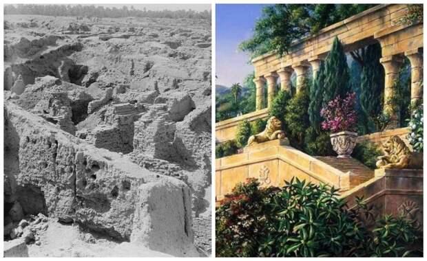 Что известно учёным о садах Семирамиды: Существовали ли когда-нибудь, кто их создал и другие факты об одном из чудес света