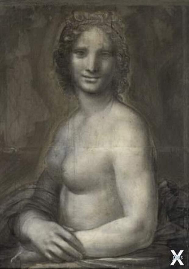 Доказано: автор почти всего этого эскиза, выполненного углем, Леонардо да Винчи