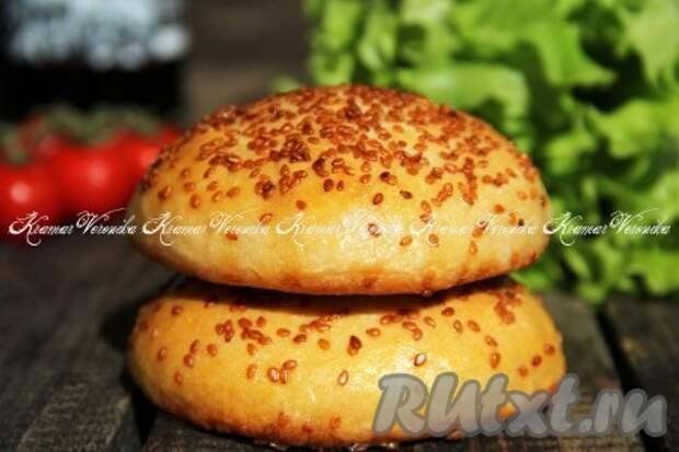 Рецепт булочек для бургеров в домашних условиях
