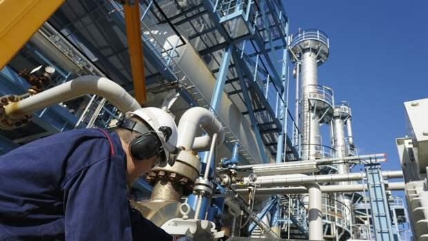 7,9млрд кубометров газа дало Тенгизское месторождение в2019 году