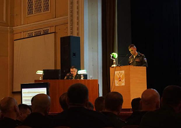 В Санкт-Петербурге начался сбор со специалистами военно-политической работы Вооруженных Сил