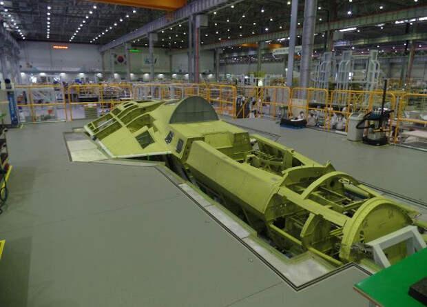 Корейцы показали фюзеляж первого собственного истребителя