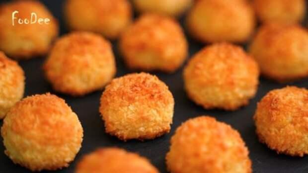 Вкуснейшее печенье без муки и масла за 5 минут из 3-х ингредиентов