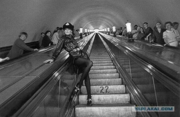 9 исторических фото метро