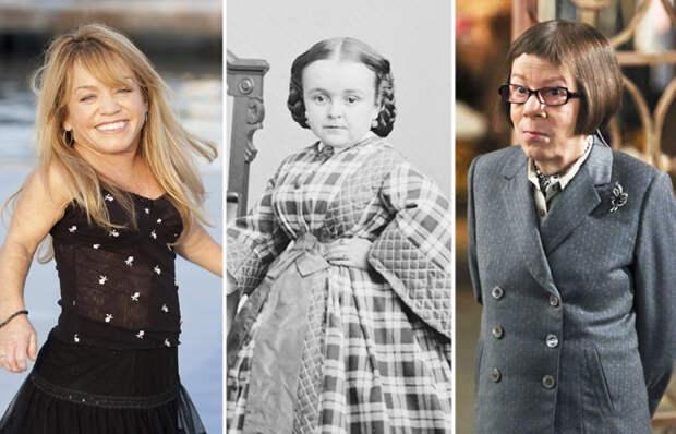 8 известных женщин-лилипутов, которые добились успеха и доказали, что рост - это не главное