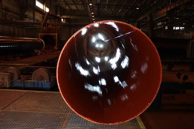 """""""Северсталь"""" впервые поставила трубы большого диаметра в Грецию"""