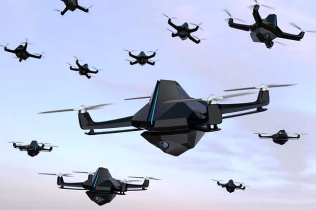 Атака дронов Рубеж Автоматика