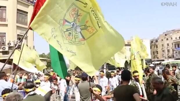Жители Дамаска выразили поддержку палестинскому народу в День Иерусалима