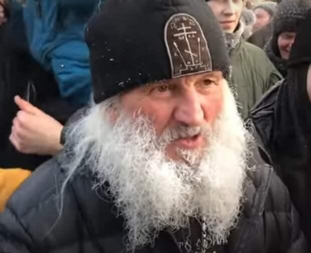 Схиигумена Сергия задержали после штурма монастыря