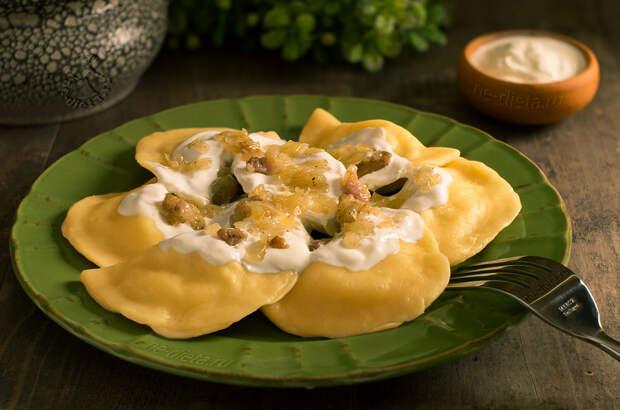 Картофельные вареники — забытый рецепт