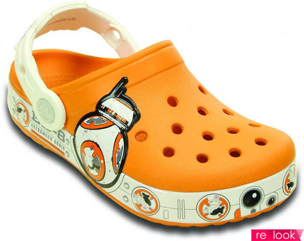 обувь из пластика