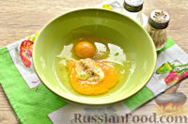 Фото приготовления рецепта: Бризоль с сосиской и сыром - шаг №5