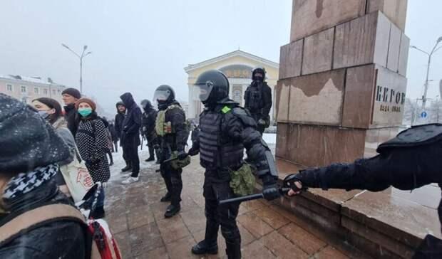 Митингующие начали расходиться после незаконной акции вПетрозаводске