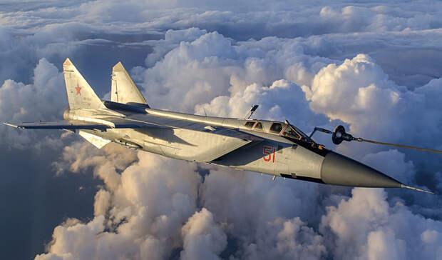 Российский истребитель перехватил американский самолет над Тихим океаном