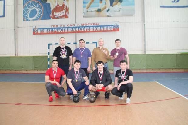 Соревнования по гиревому спорту прошли в УВД по САО