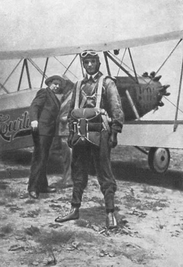 «Воздушные ямы» парашютиста Минова