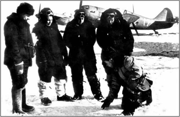 Участники высокоширотной экспедиции 1948 года.