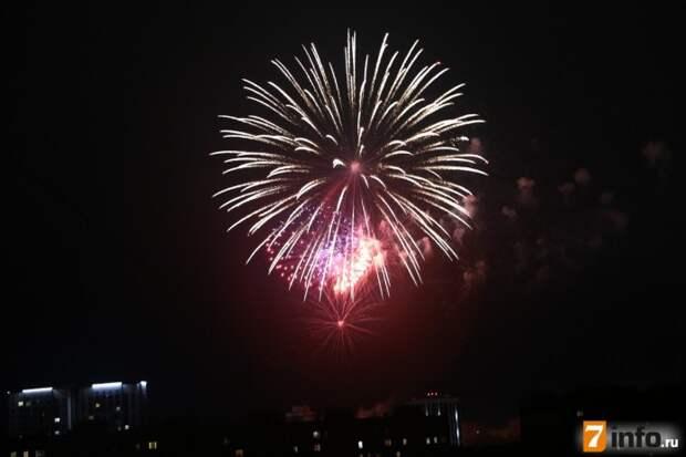 Празднование Дня Победы в Рязани завершил праздничный салют