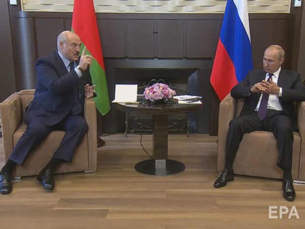 О встрече Путина и Лукашенко